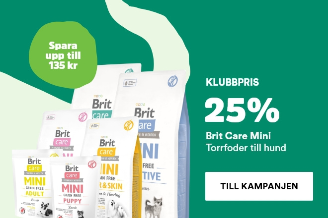 25% på Brit Care Mini hundmat