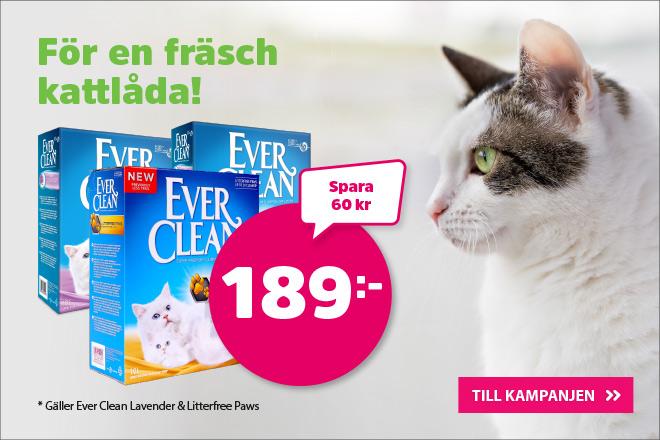 Kampanj på Ever Clean