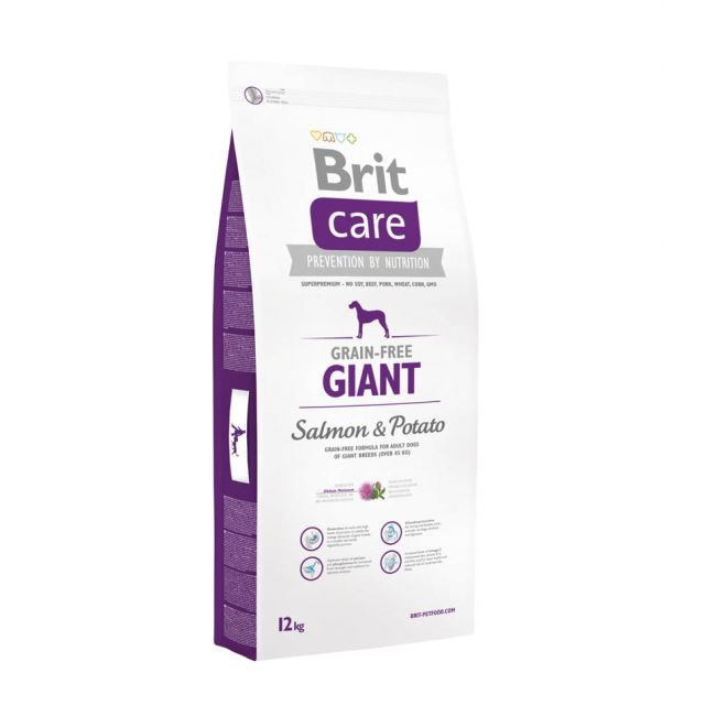 Brit Care Grain-Free Adult Giant Salmon & Potato**