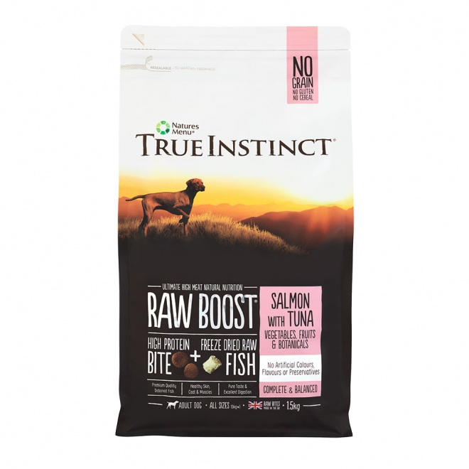 TrueInstinct RawBoost Dog Salmon & Tuna