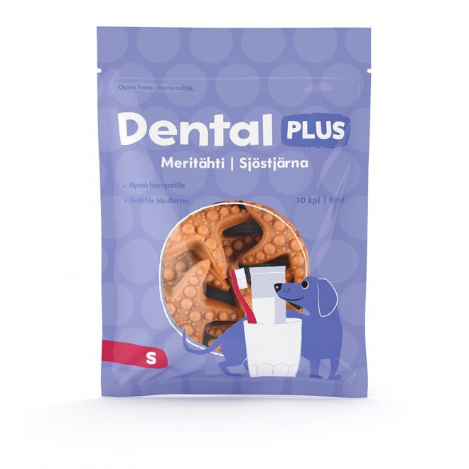 Dental Plus Sjöstjärna 10-pack (S)**