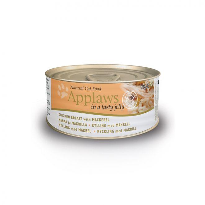 Applaws Cat Kyckling & Makrill i Gelé (70 gram)