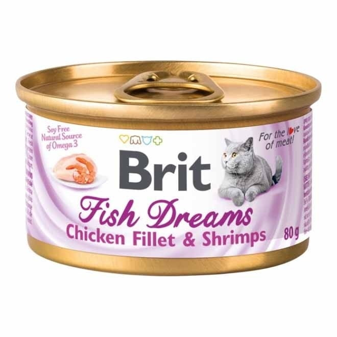 Brit Fish Dreams Kyckling & Räka 80 g