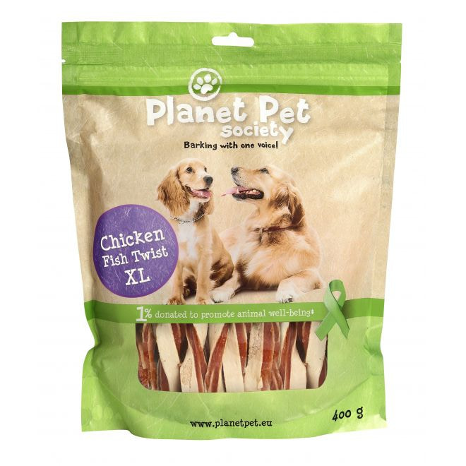 Planet Pet Society Twist Chicken XL 400 g
