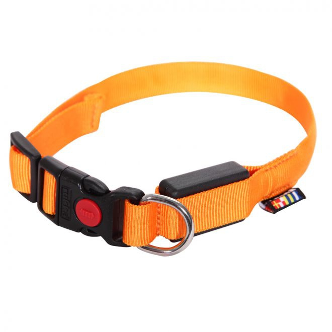 Rukka Visible LED Halsband Orange**