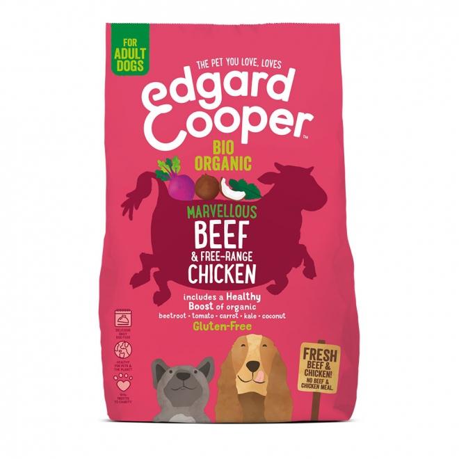 Edgard & Cooper Dog Ekologisk Nötkött & Kyckling