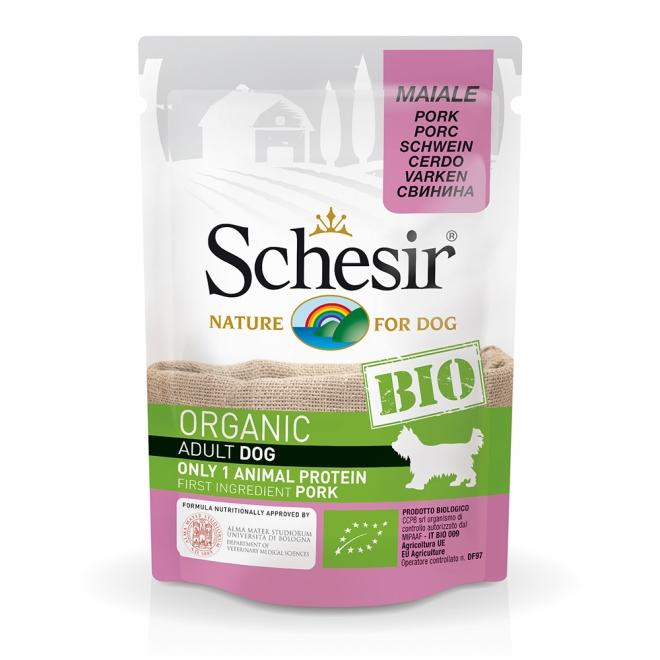 Schesir Bio Dog Adult Pork (85 g)