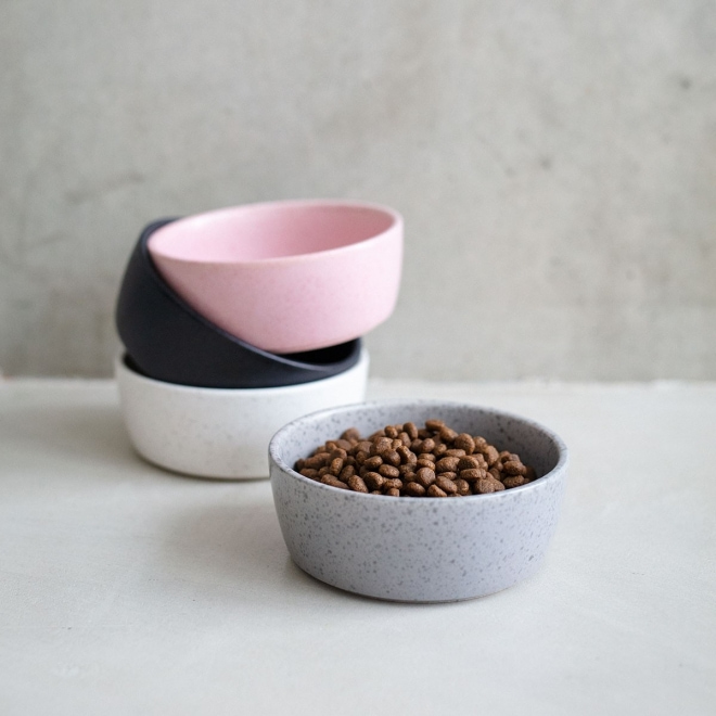 Basic Harmony Keramikskål Grå