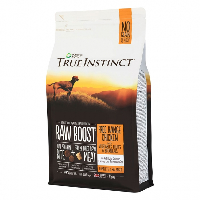 True Instinct RawBoost Adult Dog Chicken