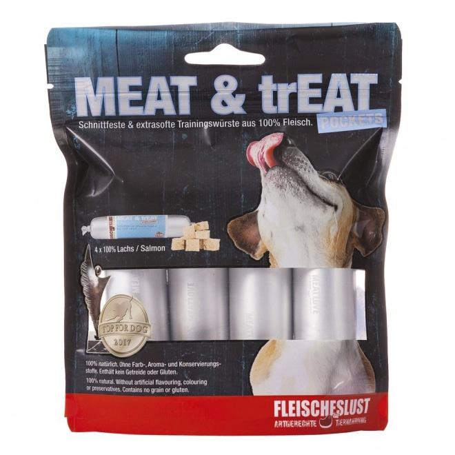 MEAT & trEAT-Pockets Salmon 4x40g