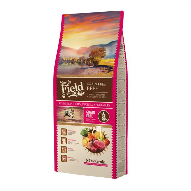 Sam´s Field Adult Grain Free Beef (13 kg)