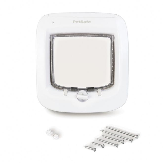 PetSafe Microchip Kattlucka Vit