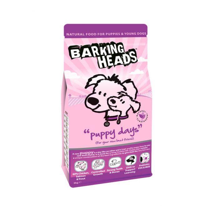 Barking Heads Puppy Days Chicken, Salmon & Trout