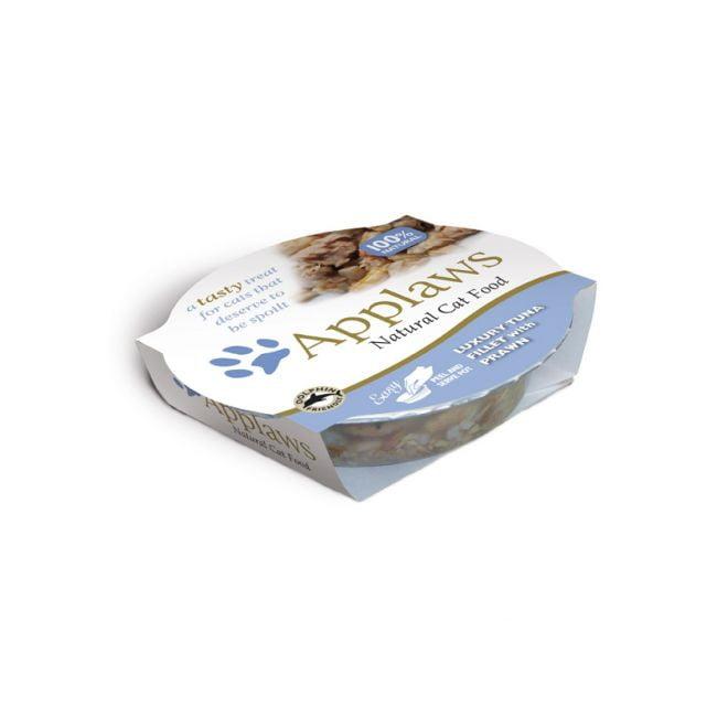 Applaws Cat Tonfiskfilé & Räkor (60 gram)