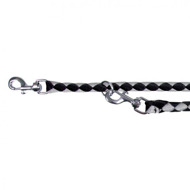 Trixie Cavo Justerbart Koppel Svart/Silver L-XL (L/XL)**