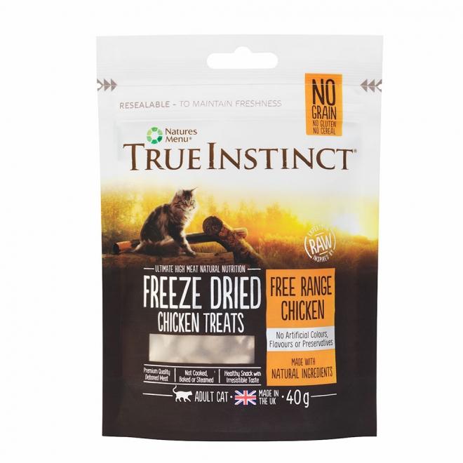 True Instinct Treat Cat Freeze Dried Chicken 40 g