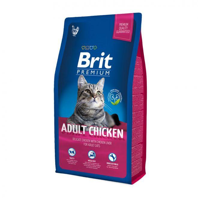 Brit Premium Cat Adult Chicken**