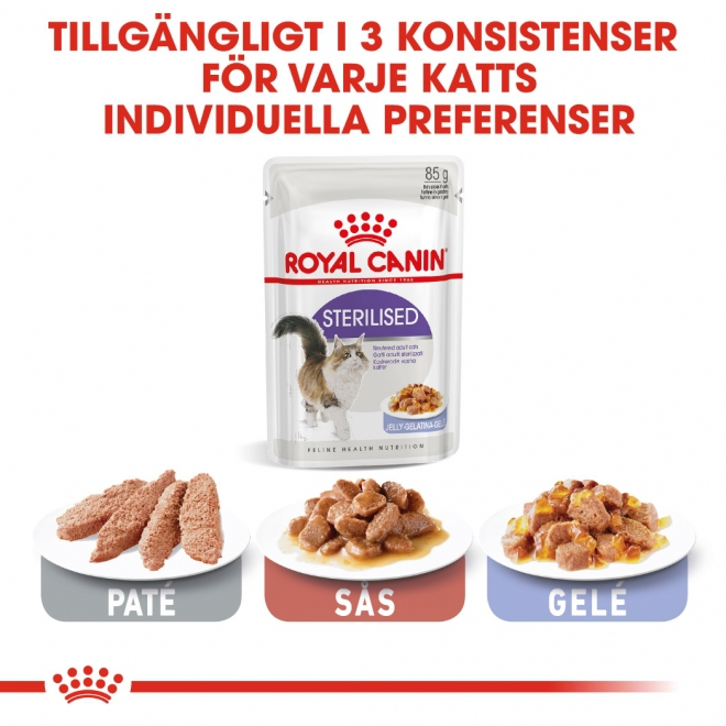 Royal Canin Sterilised Jelly 12x85 g