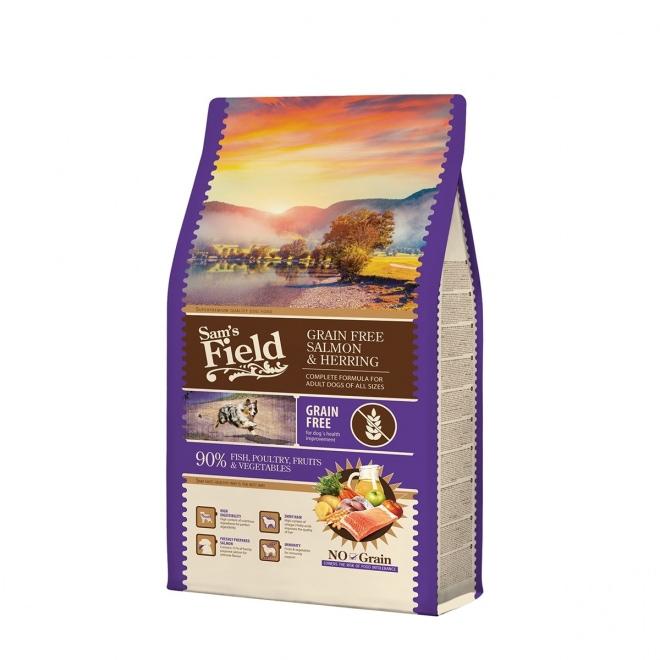 Sam´s Field Adult Grain Free Salmon & Herring (2,5 kg)