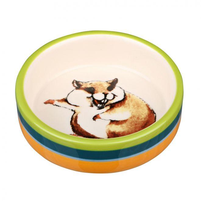 Trixie Keramikskål Hamster 80 ml (Keramik)