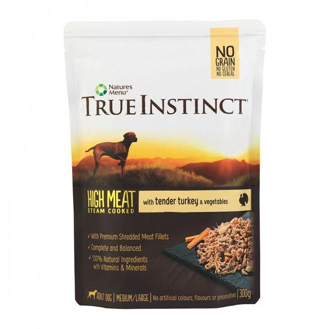 True Instinct HighMeat Dog Turkey