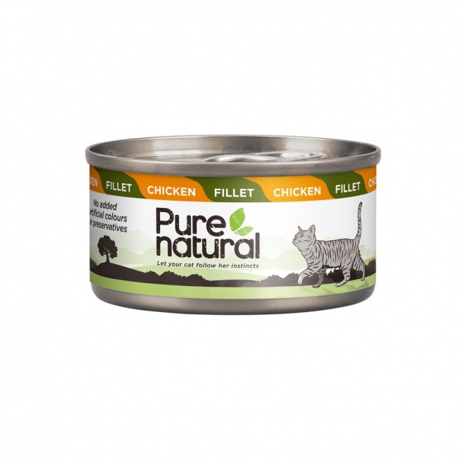 Purenatural Cat Fillet Chicken 70 g