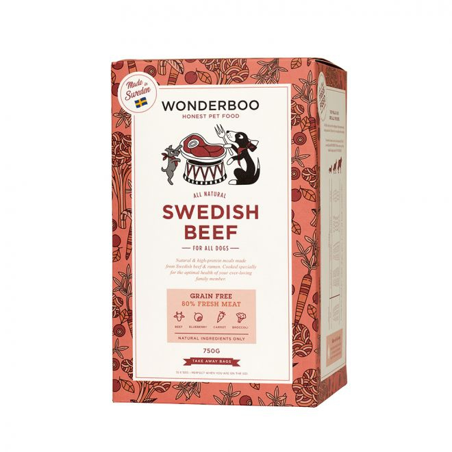 Wonderboo Adult Swedish Beef Grain Free**