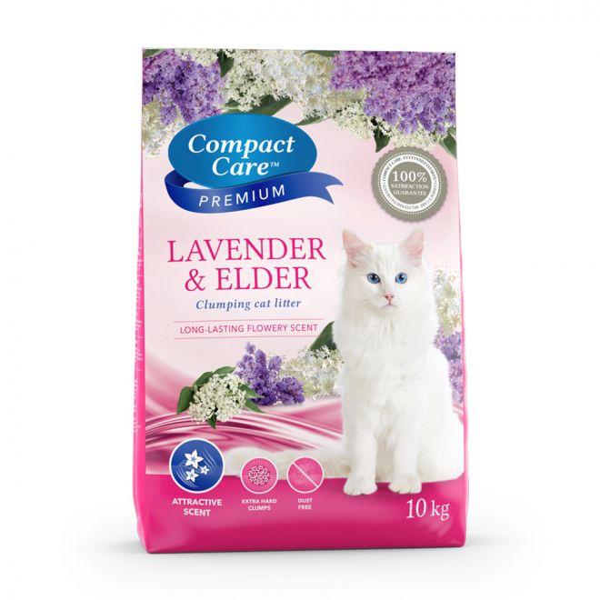 Compact Care Premium Lavendel & Fläder (10 kg)