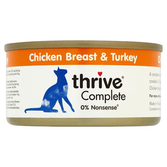 Thrive Adult Kyckling & Kalkon (75 gram)