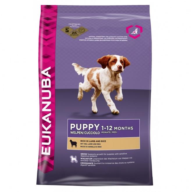 Eukanuba Puppy Lamb & Rice
