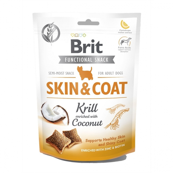 Brit Care Functional Snack Skin&Coat Krill 150 g