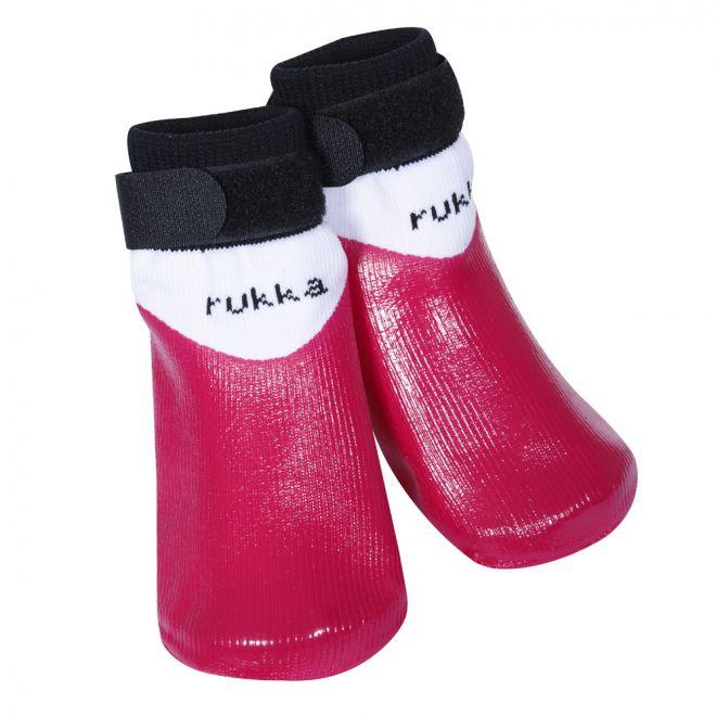 Rukka Gummistrumpa 4-pack Rosa**