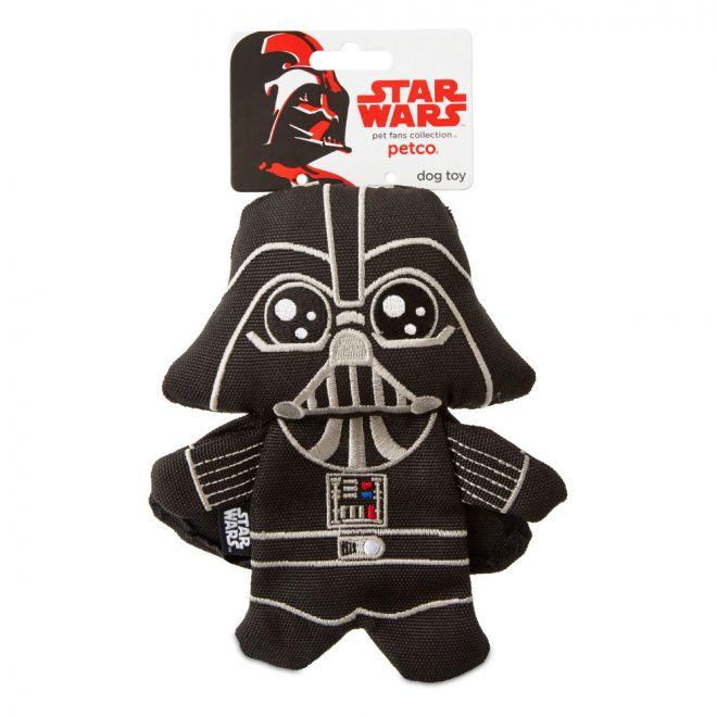PCO Star Wars Darth Vader Flattie Hundleksak**