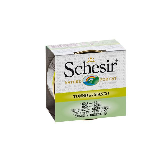 Schesir Tonfisk & Oxe (70 gram)**