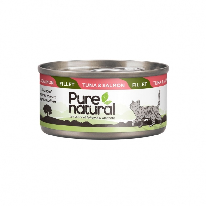 Purenatural Cat Fillet Tuna & Salmon 70 g