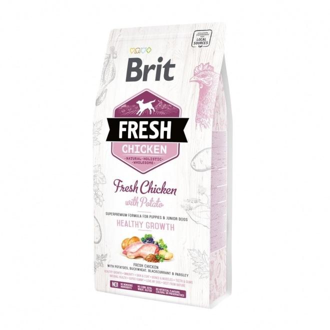 Brit Fresh Chicken with Potato Puppy Healthy Growth (12 kg)
