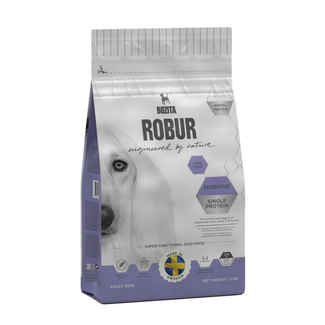 Robur Sensitive Single Protein Lamb (3 kg)**