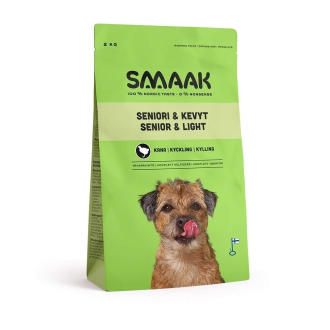 Smaak Dog Senior & Light Kyckling (2 kg)