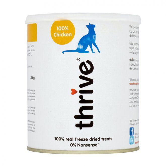 Thrive Kattgodis Kyckling (200 gram)