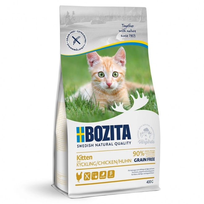 Bozita Kitten Grain Free Chicken (400 g)