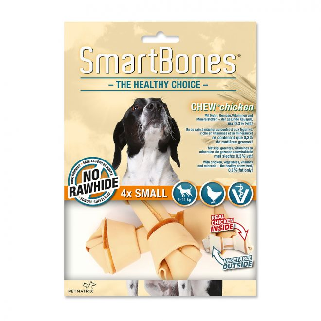 SmartBones Chicken Small 4-pk