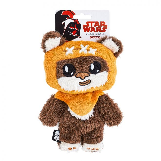 PCO Star Wars Ewok Flattie Hundleksak