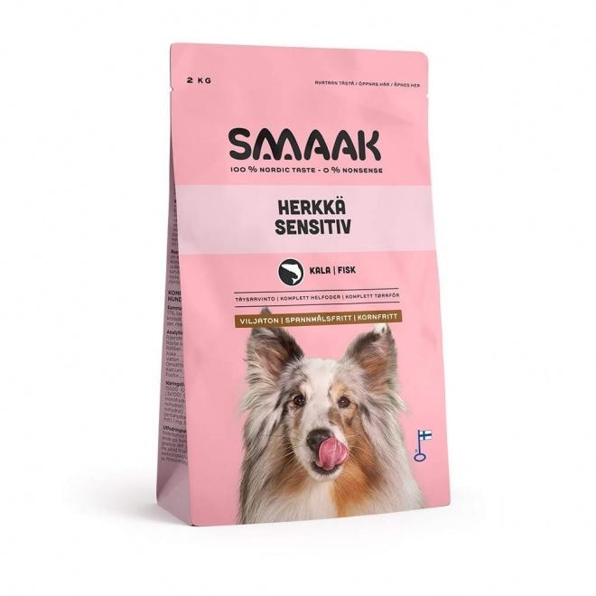 Smaak Dog Adult Grain Free Fisk (2 kg)