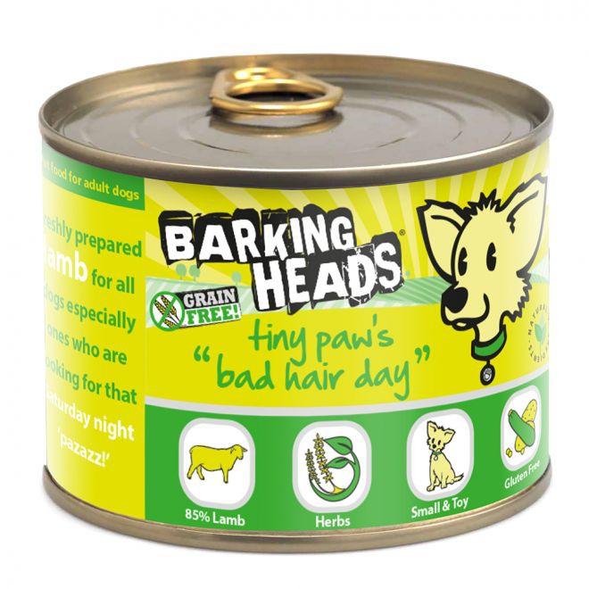 Barking Heads Tiny Paws Bad Hair Day Lamm (200 gram)**