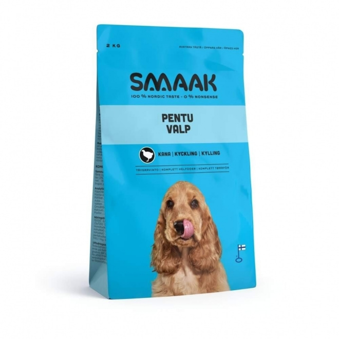 Smaak Dog Puppy Kyckling (2 kg)