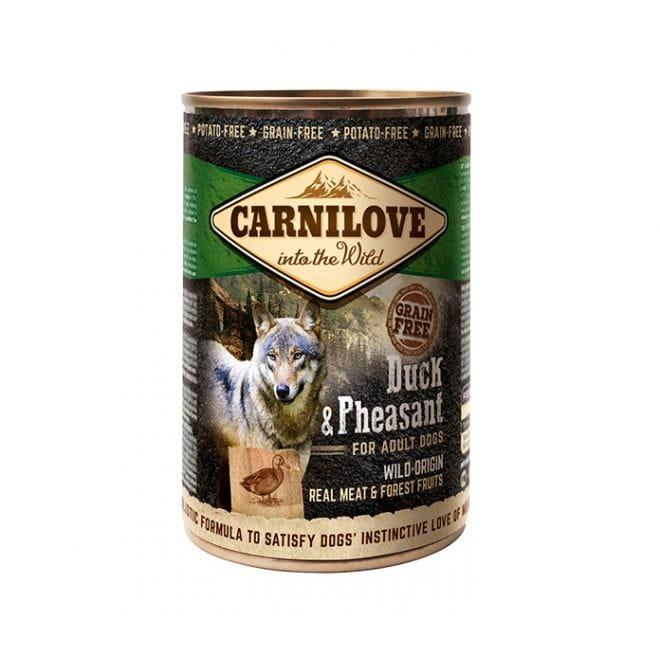 Carnilove Wild Meat Duck & Pheasant (400 gram)