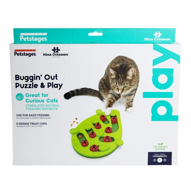 Nina Ottosson Cat Buggin'Out Puzzle & Play Grön