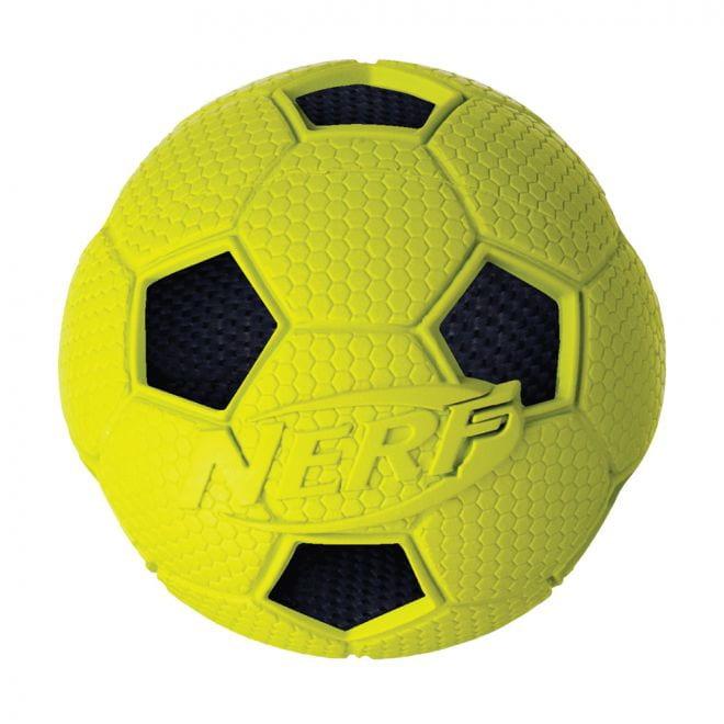 Nerf Soccer Crunch boll (Gul)