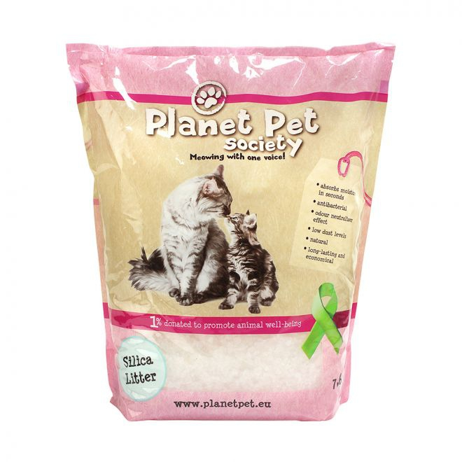 Planet Pet Society Kattströ Silika**