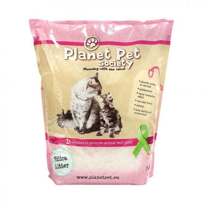 Planet Pet Society Kattströ Silika